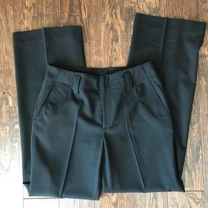 Club Monaco Black Wide Leg Trousers / Pants, sz 8